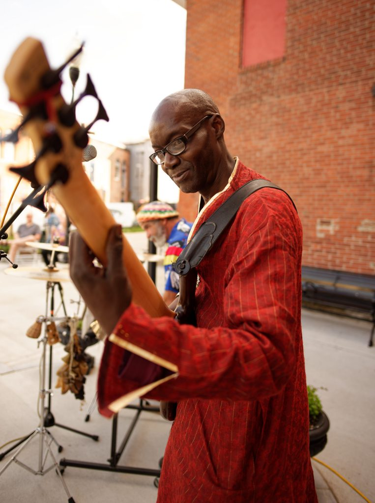 Crocodile River Music's Thierno Camara