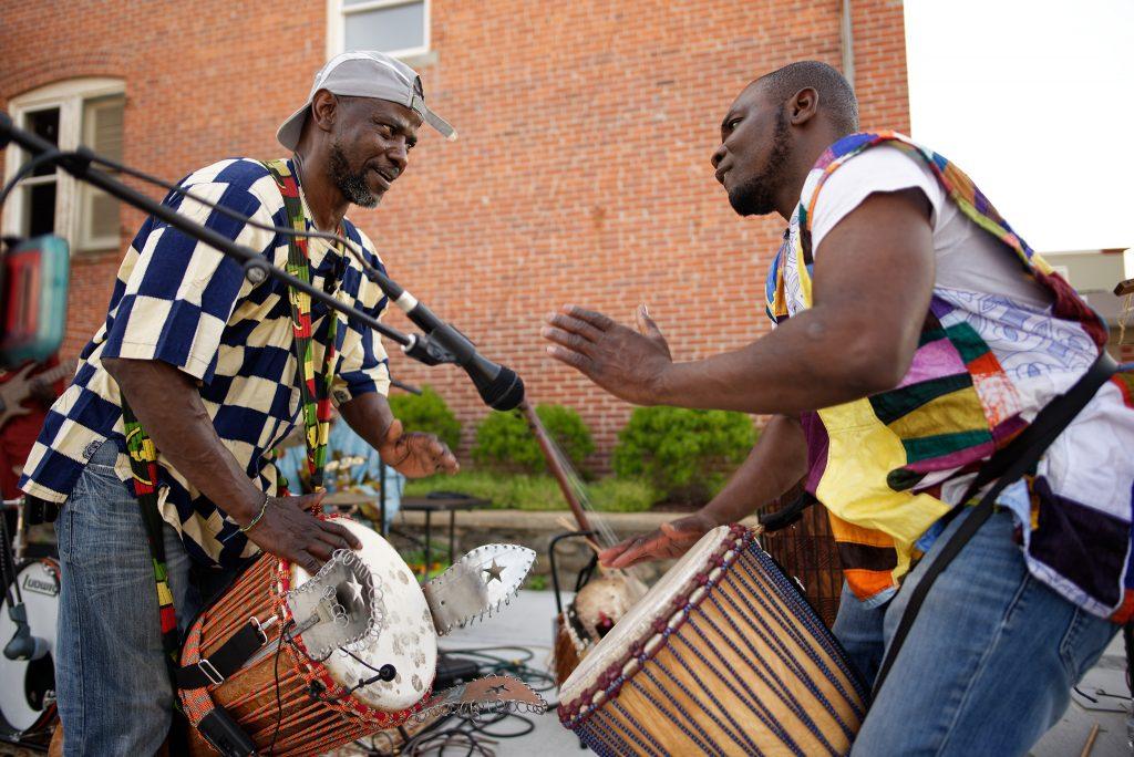 Crocodile River Music's Issa Coulibaly, Idrissa Koné